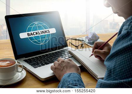 BACKLINKS analysis, business, businessman, belief inspiration communication