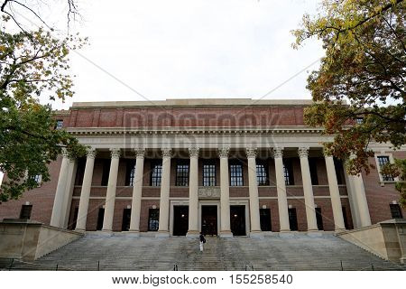 Harvard Yard at Harvard University, Cambridge, MA