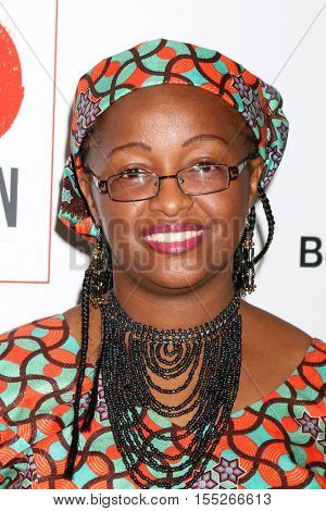 LOS ANGELES - NOV 5:  Neema Namadamu at the 10th Annual GO Campaign Gala at the Manuela at Hauser Wirth & Schimmel on November 5, 2016 in Los Angeles, CA