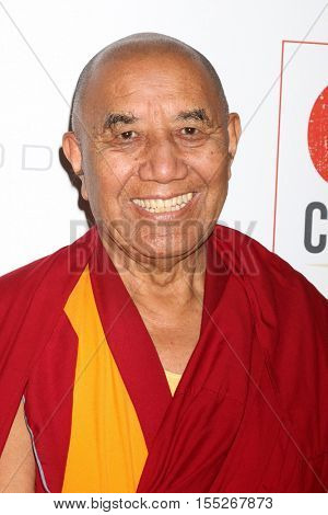 LOS ANGELES - NOV 5:  Venerable Lorm Loeurm at the 10th Annual GO Campaign Gala at the Manuela at Hauser Wirth & Schimmel on November 5, 2016 in Los Angeles, CA