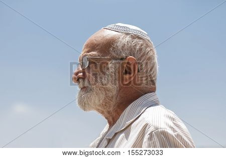 Old Jewish Religian Men