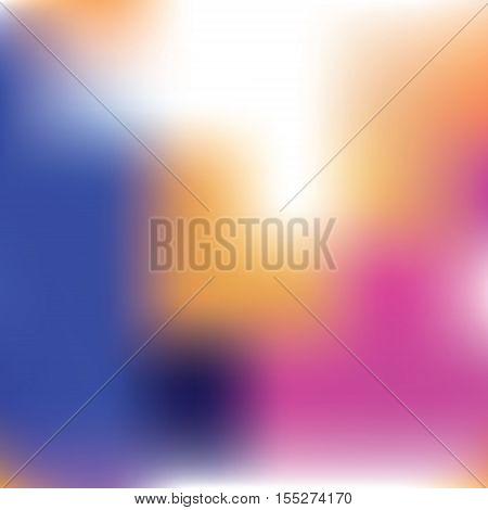 Vector gradient background soft blurry lights vector illustration