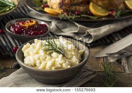 Homemade Thanksgiving Mashed Potatoes