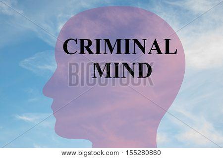 Criminal Mind Concept