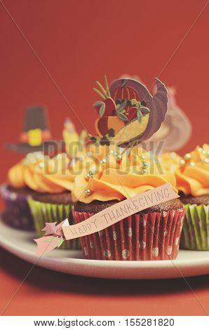Happy Thanksgiving Cupcakes