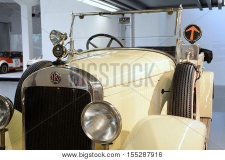 Vintage Car Skoda