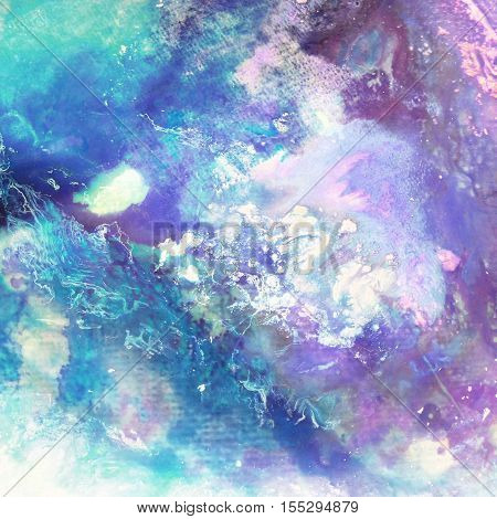 Abstract watercolor hand painted background. Watercolor stains. colorful vintage texture. Watercolor wash. Abstract painting. pastel colors.grunge paper texture - artistic stylish background