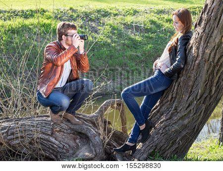 Man Photograph Girl