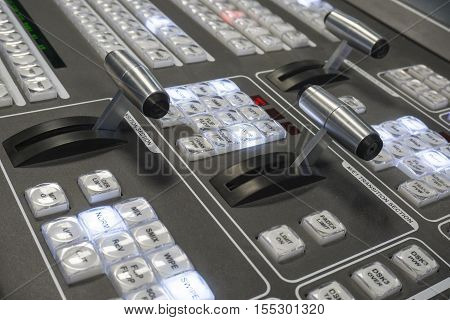Video Production Switcher of Television Broadcast Studio