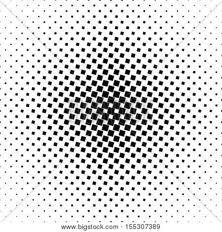 Abstract black and white angular square pattern background