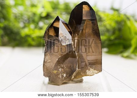smoky quartz mineral specimen the natural geology