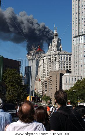 World Trade Center Einsturz beobachten