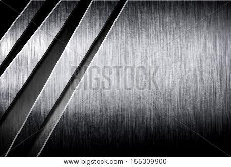 crack metal design background poster