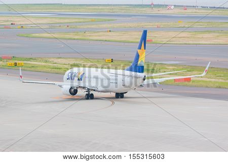 Skymark Airlines In Chubu Centrair International Airport Japan.