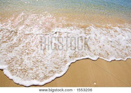 Waves Crashing Into Shore