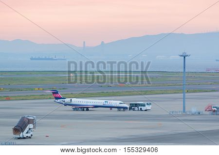 Ibex Airlines In Chubu Centrair International Airport Japan