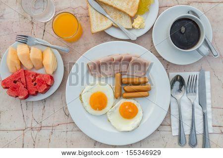 Breakfast In Morning