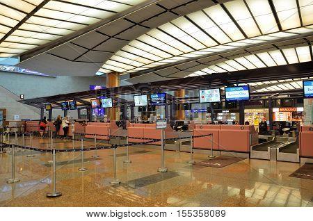 Interior Of Changi Airport