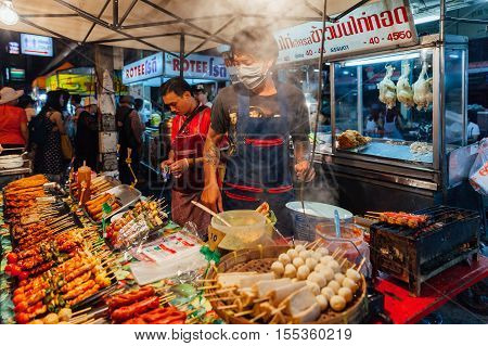 Saturday Night Market, Chiang Mai, Thailand