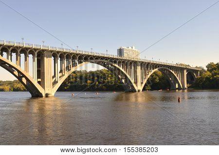 The Ford Parkway Bridge in Minneapolis Minnesota