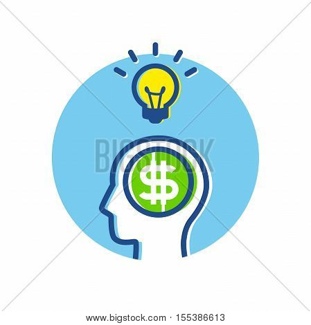Fintech Financial Technology Business Big Idea Thinking Concept infographic