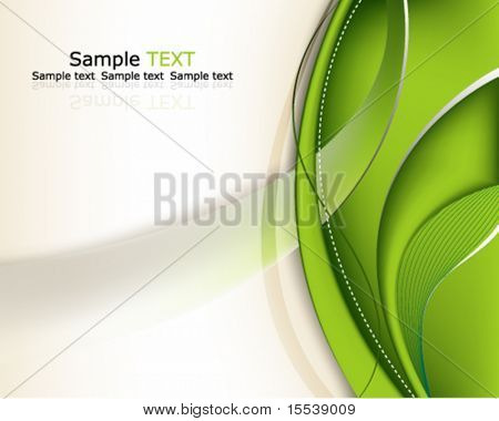 Eps10 Green Background