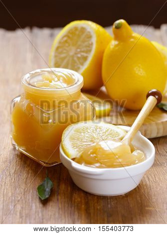 lemon curd cream made from natural organic lemons