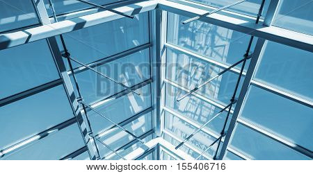 Internal Structure Of Glass Roof