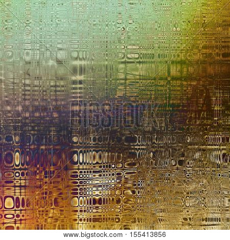 Art graphic texture for grunge abstract background. Aged colorful backdrop with different color patterns: yellow (beige); brown; gray; green; blue; purple (violet)