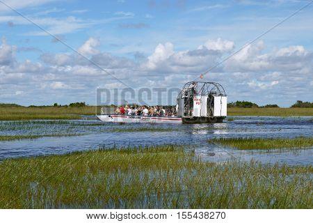 Beautiful pic of a Everglades tour, Florida. USA