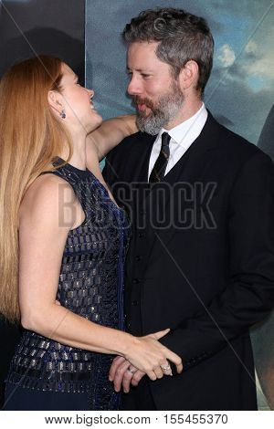 LOS ANGELES - NOV 6:  Amy Adams, Darren Le Gallo at the
