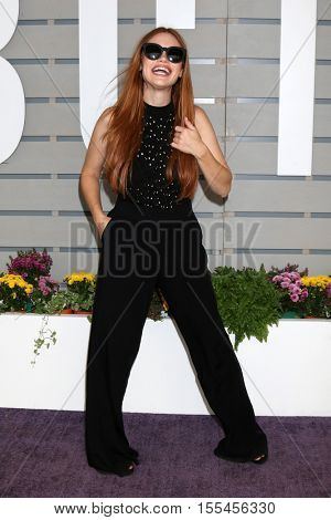 LOS ANGELES - NOV 5:  Holland Roden at the 33rd Breeder's Cup World Championship at the Santa Anita Park on November 5, 2016 in Arcadia, CA