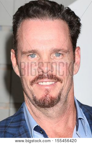 LOS ANGELES - NOV 5:  Kevin Dillon at the 33rd Breeder's Cup World Championship at the Santa Anita Park on November 5, 2016 in Arcadia, CA