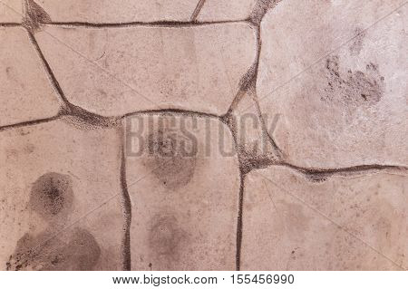 Concrete stamp texture can be used as background