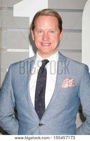 LOS ANGELES - NOV 5:  Carson Kressley at the 33rd Breeder's Cup World Championship at the Santa Anita Park on November 5, 2016 in Arcadia, CA