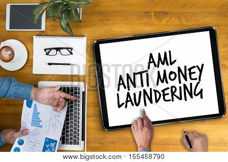 Business Acronym AML Anti Money Laundering abbreviation, accounting, acronym, aml,