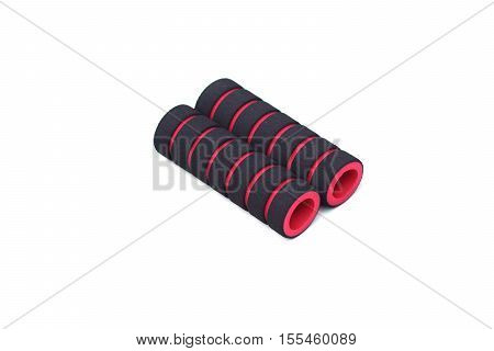 Bicycle soft grip isolated on white background
