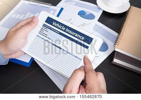 Form Document Vehicle Insurance Claim