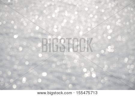 shiny holiday blur silvery white - gray background