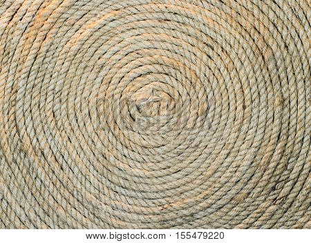Hemp rope circle texture decoration, hemp, knot, link