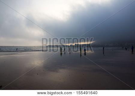 Beach In Agadir City In Morocco In 2016