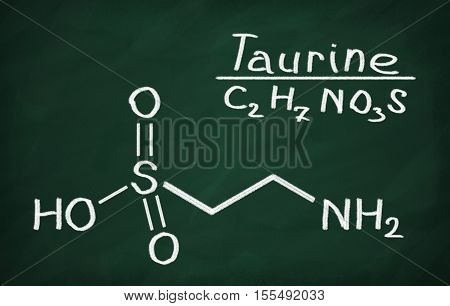 Structural Model Of Taurine