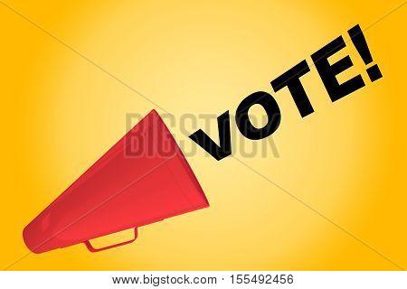 Vote! - Political Concept