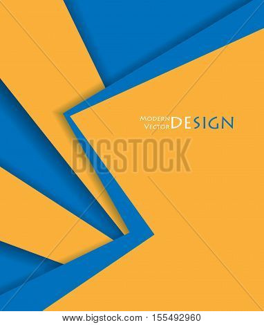 Vector abstract frame. Corporate design. Annual reports template. Eps10