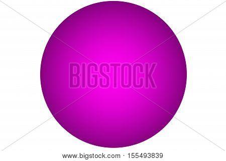 3D ball Color illustration background .3D design