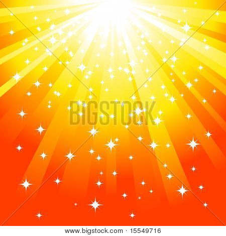 Magic yellow background Vector. Visit my portfolio for big collection of backgrounds