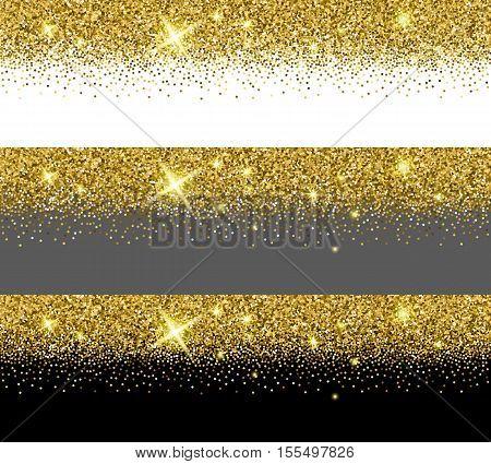 Vector Gold Glitter Vector & Photo (Free Trial) | Bigstock