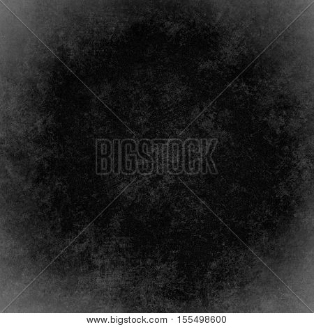 Black abstract grunge background. vintage wall texture