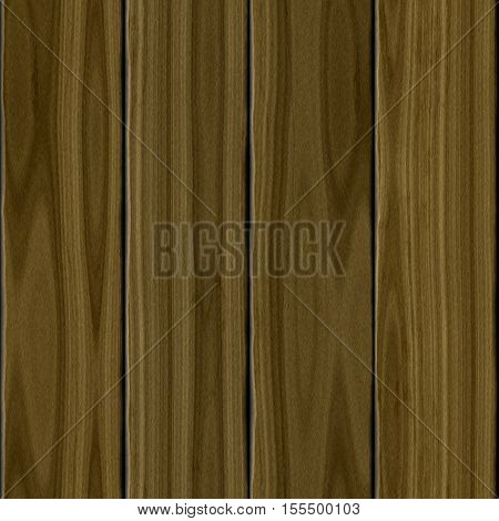 Brown realistic four wood wooden planks texture background