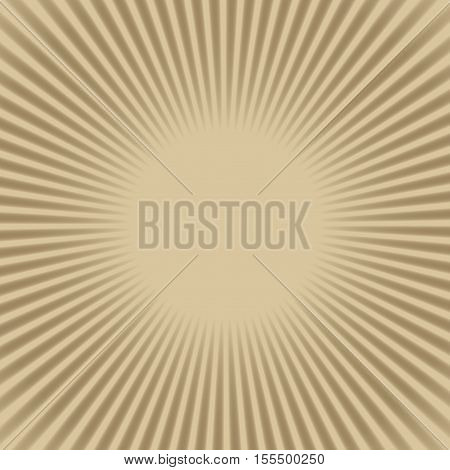 Beige and brown creamy coffee circle frame background